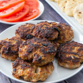 Ground Veal Burgers