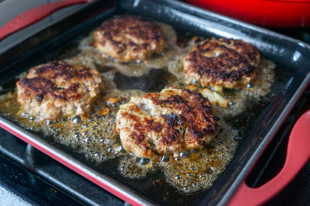 Ground Veal Burgers1