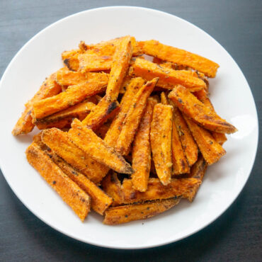 Oven Sweet Potato Fries with Tapioca Flour