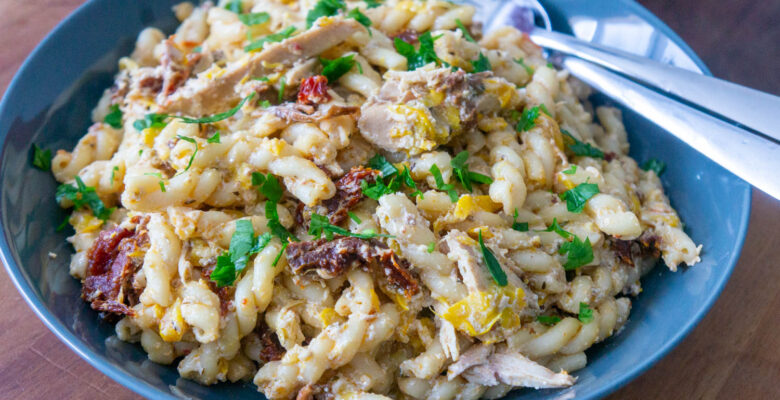 Gemelli Pasta with Summer Squash