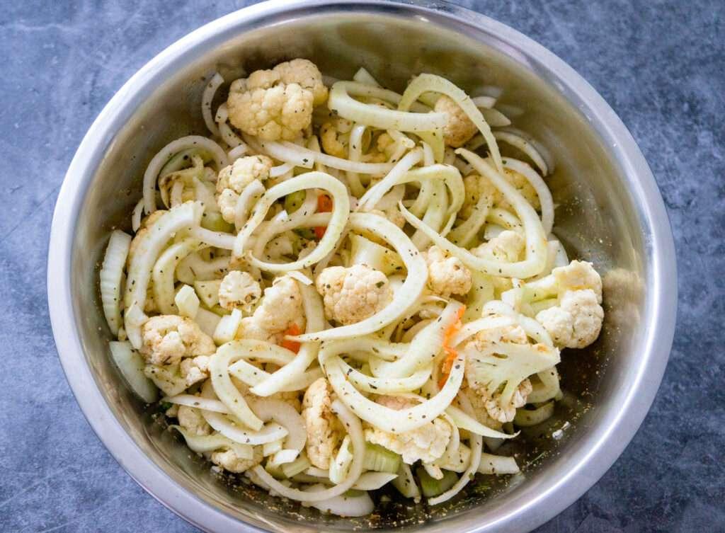 Roasted Cauliflower with Fennel