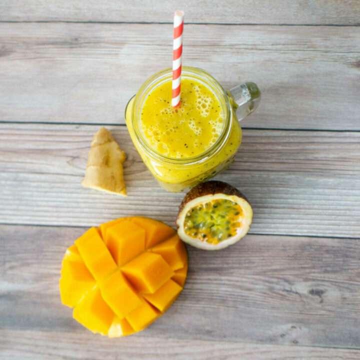 Passionfruit - Mango and Passion Fruit Juice