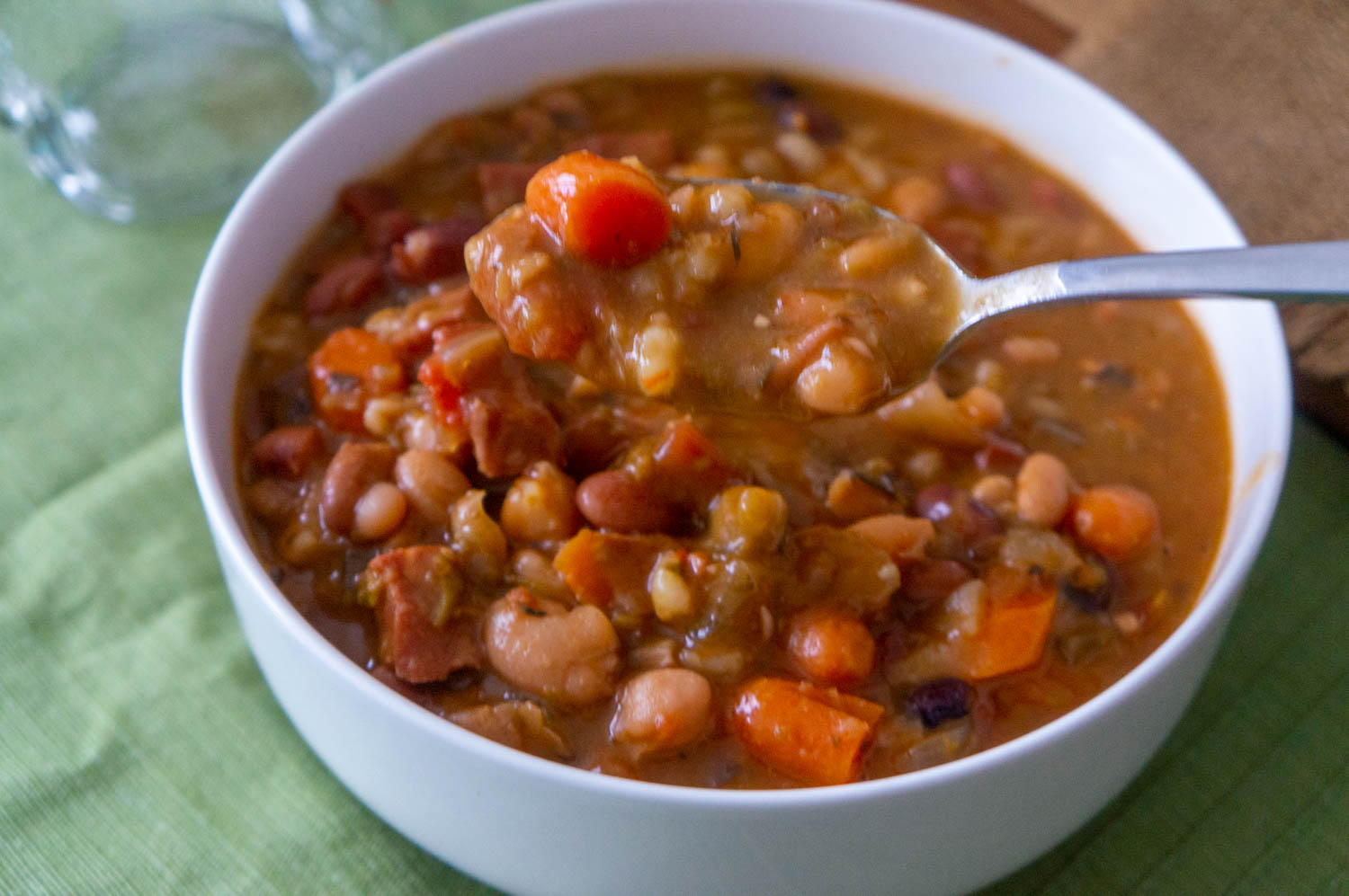 16 Beans and Ham Soup