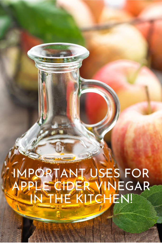 Important Uses For Apple Cider Vinegar in The Kitchen!