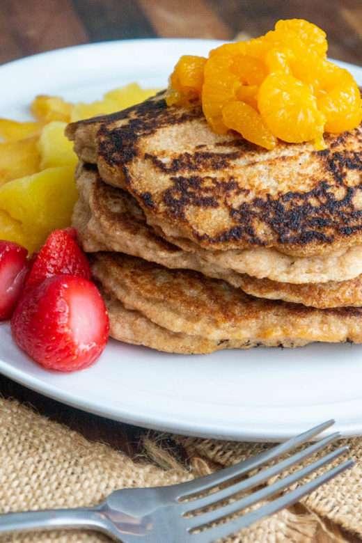 Spelt Flour Pancakes
