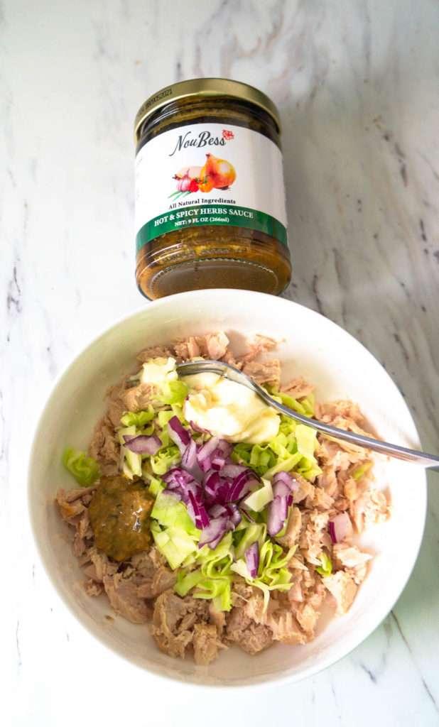 Tuna Cabbage Salad.