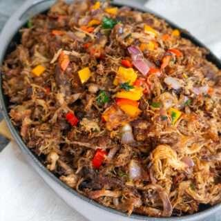 Pulled Pork Caribbean Style