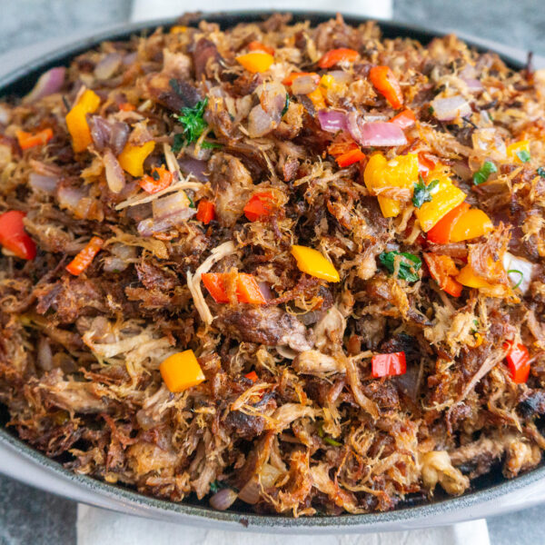 Pulled Pork Caribbean Style-
