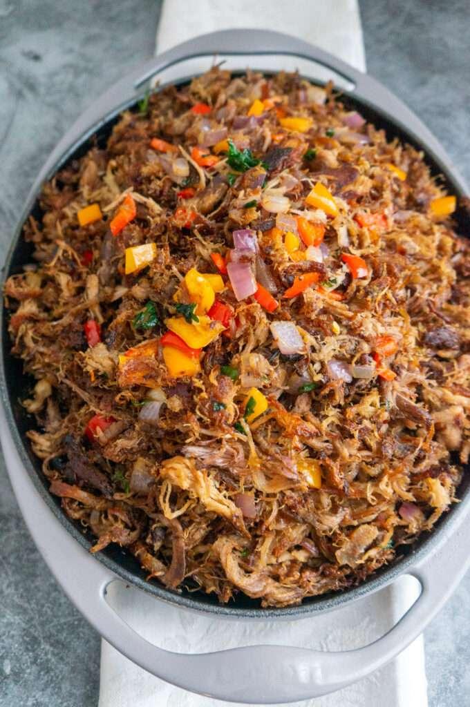 Pulled Pork Caribbean Style-
