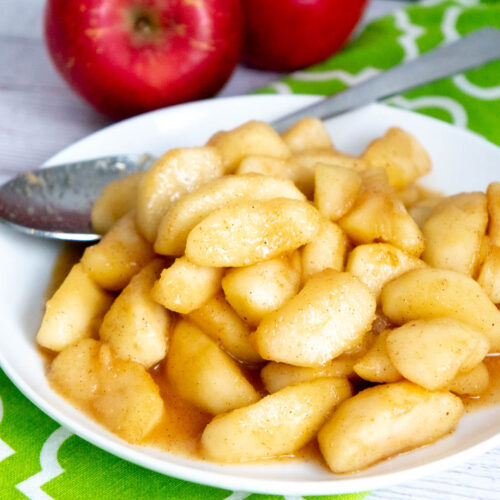 spiced cooked apples