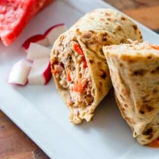 Easy Tuna Salad Wrap