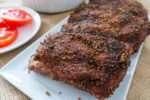 Easy oven pork ribs