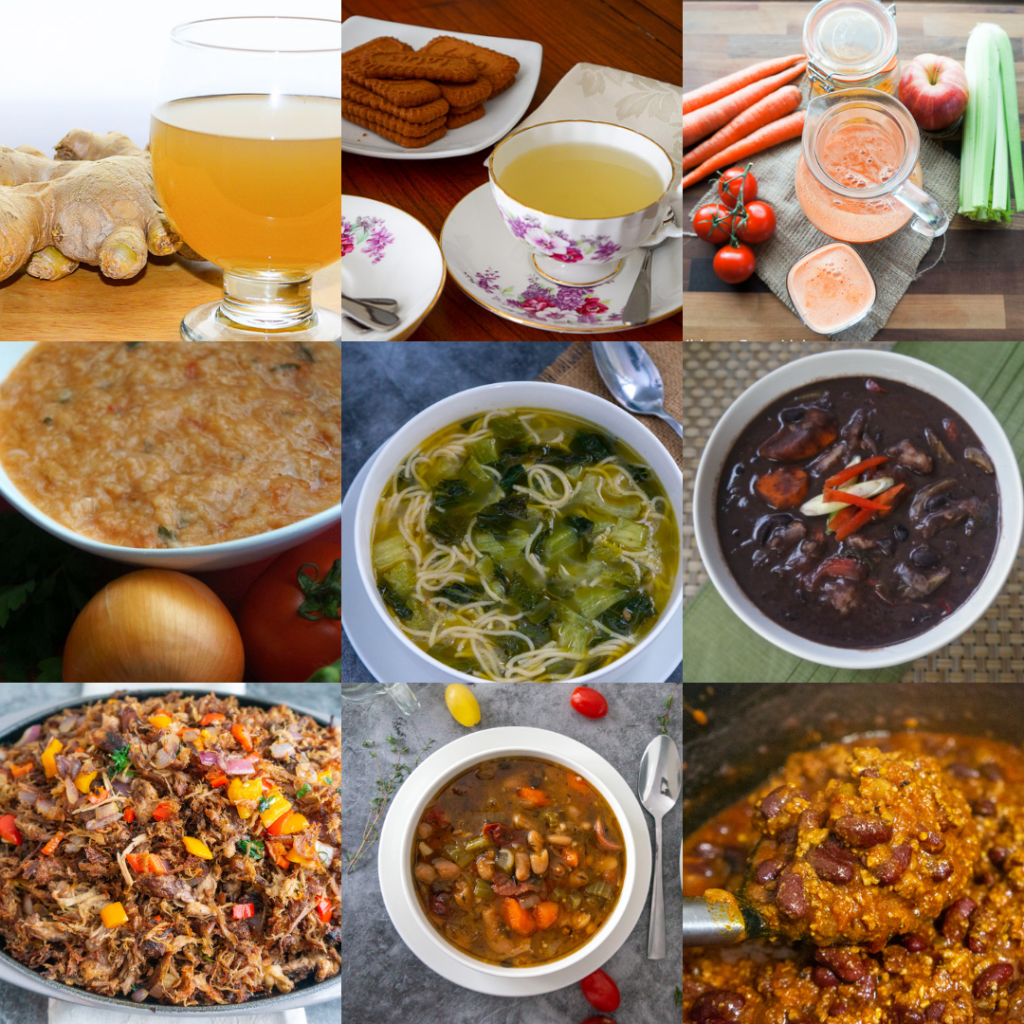 Healthy and Easy recipes to stay warm this winter season png