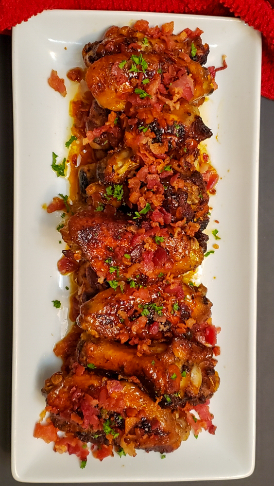 Sweet and Spicy Chicken Wings3