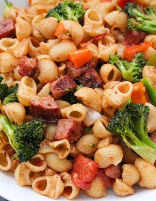 Quick and Easy Pasta Recipe with Sausages and Broccoli