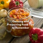 canning and preserving food