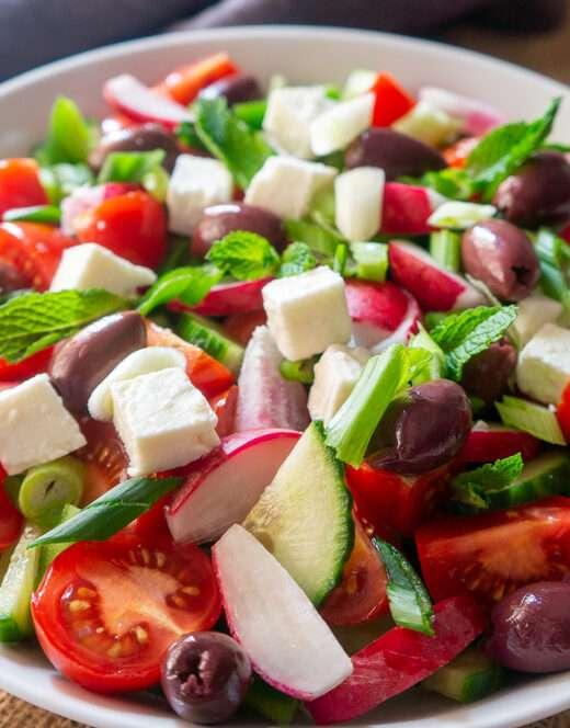 Easy Greek Salad