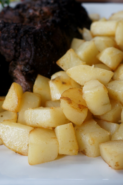 Spicy Pan-Roasted Potatoes
