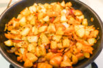 Crispy Pan-Fried Potatoes with Codfish