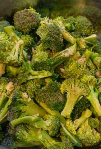 Easy Cheesy Roasted Broccoli