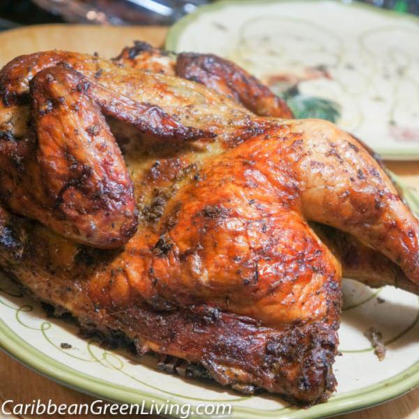 Jerk Coconut Chicken