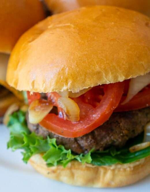 Juicy Ground Beef Burgers