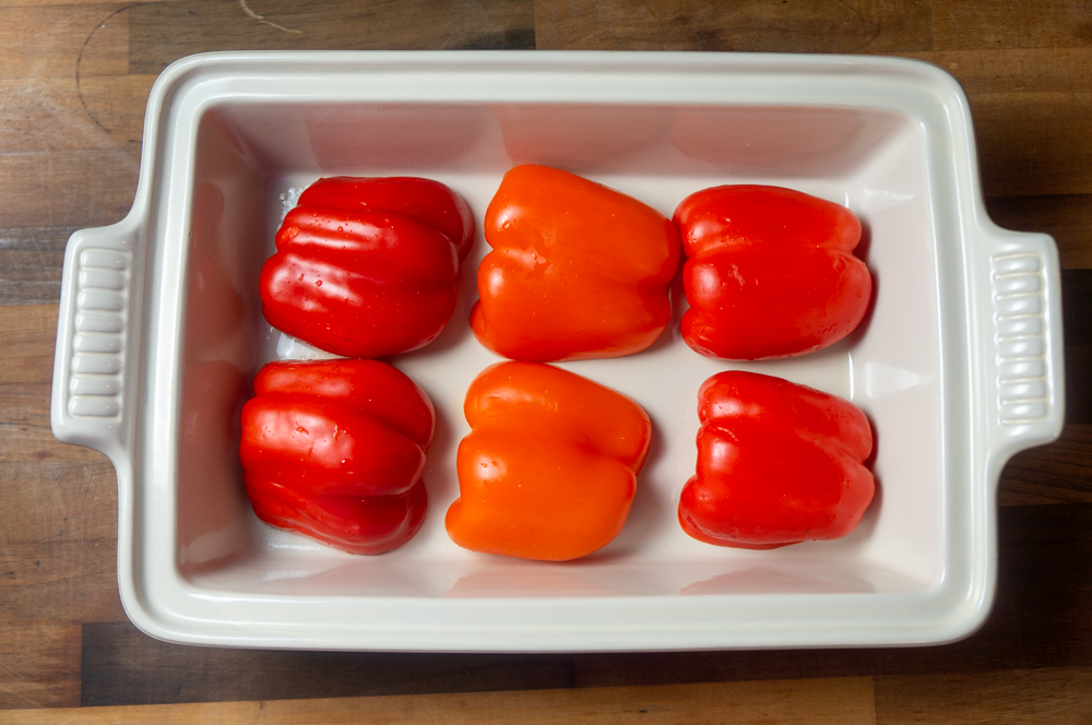 Stuffed Peppers with Chicken