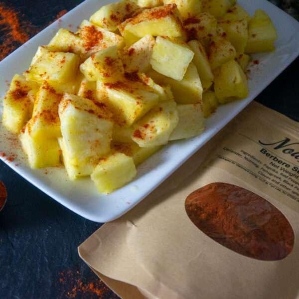 Berbere Seasoning and Pineapple