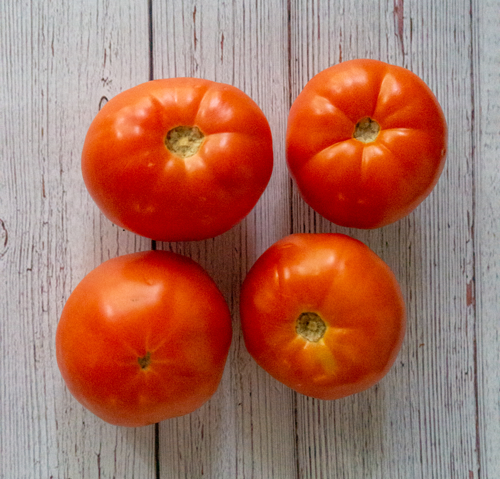 blanch tomatoes