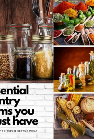 Essential Pantry Items you must have