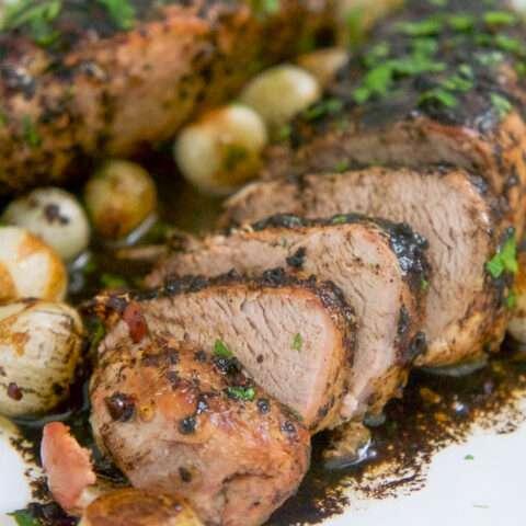 Balsamic Roasted Pork Tenderloins